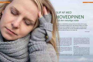 Sundhed - Hovedpine - Slip af med hovedpinen - på den naturlige måde - 2012_Side_1