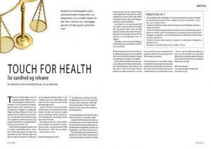 kinesiologi - Touch for health - 2006